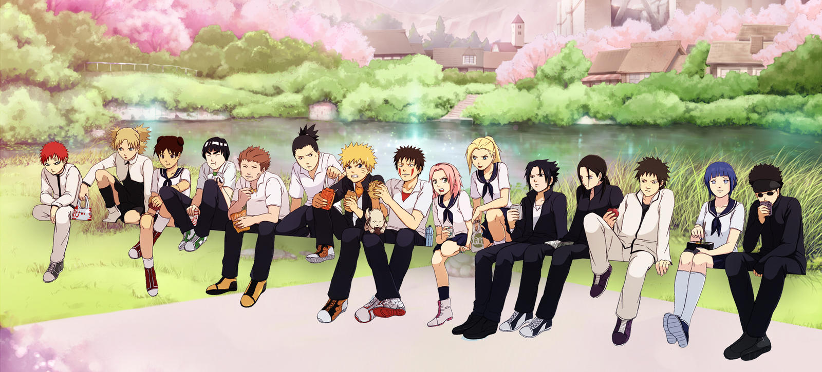 Popular Wallpaper Naruto Group - group_of_friends_by_narusailor-d4w68su  Pictures_92806.jpg