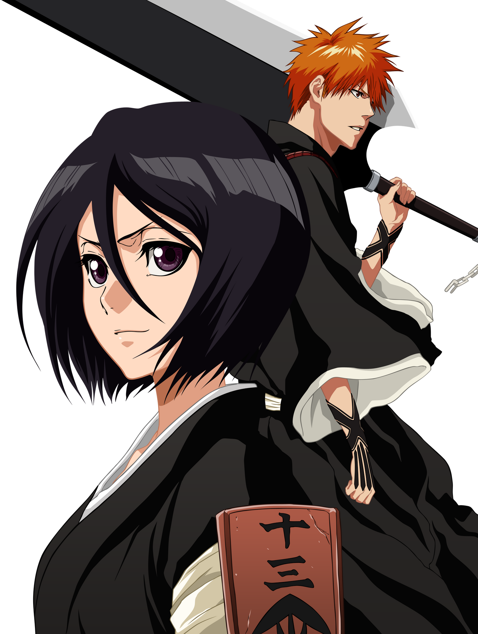 bleach manga rukia and ichigo relationship