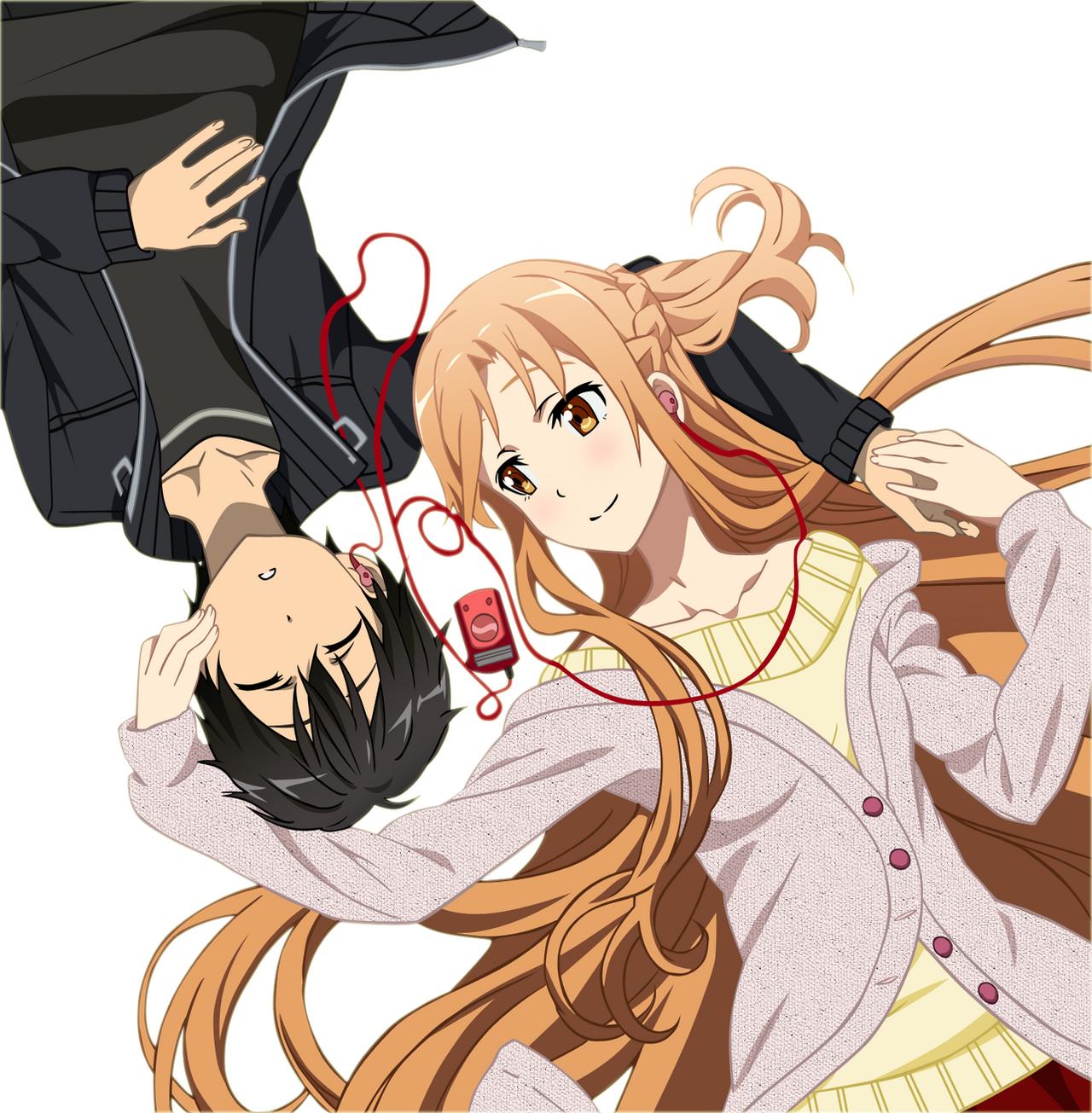 Kirito X Asuna by NarusailorKirito And Asuna