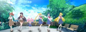 Sailor Moon Crystal 3 Season.