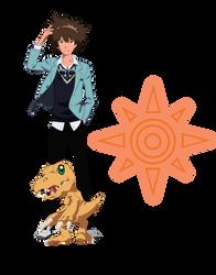 Taichi and Agumon