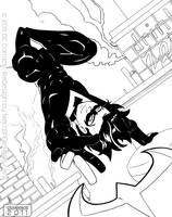 DC- Nightwing by nekojindesigns
