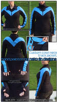 Nightwing Track Jacket by nekojindesigns