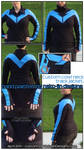Nightwing Track Jacket