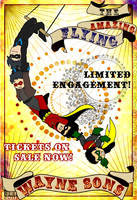 Amazing Flying Wayne Sons by nekojindesigns