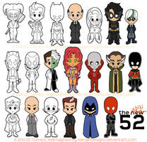 chibi 52 preview II by nekojindesigns