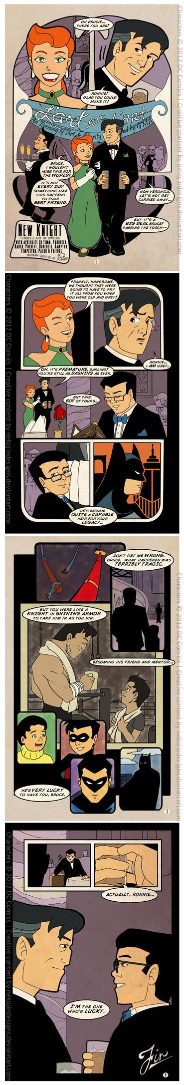 New Knight - A Batman Comic by nekojindesigns