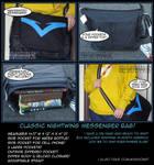 Nightwing Messenger Bag!