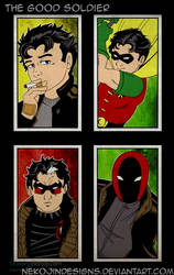 The Good Soldier - Jason Todd by nekojindesigns