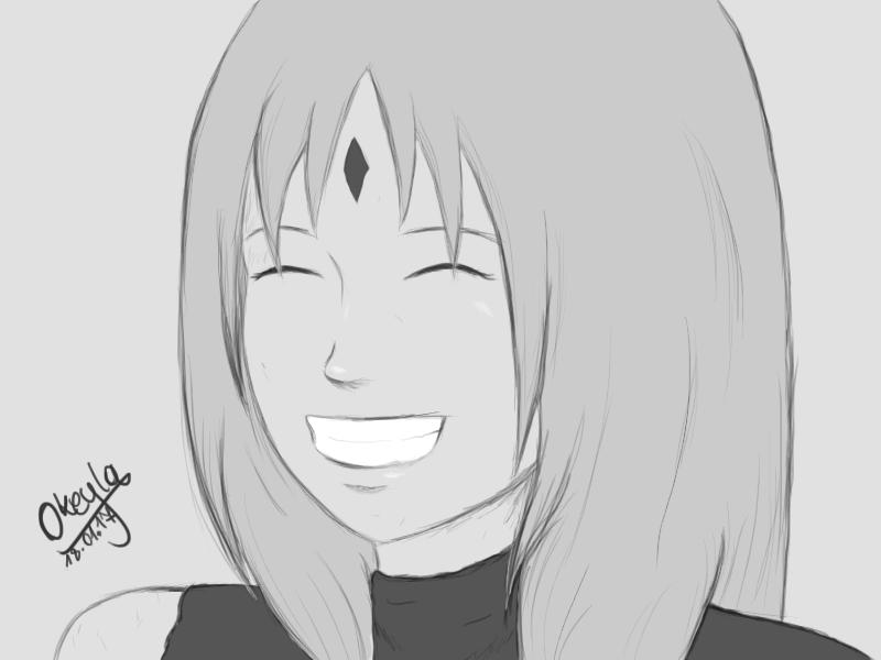 Sakura's happy when they are together by Okeyla-Kodori1