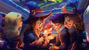 Wizards Anthology l LWA x HP Fanart!