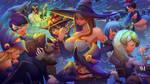Wizards Classroom | LWA x Konosuba x Other Fanart! by NicoMelba