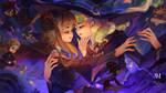 Wizards Wedding l LWA x HP Fanart! by NicoMelba