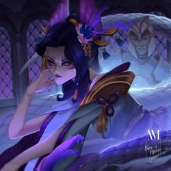 League of Legends | Cassiopeia by NicoMelba