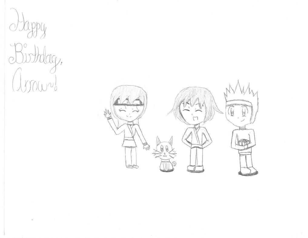 Happy Birthday Arrow~! by Ayuki-Karpy