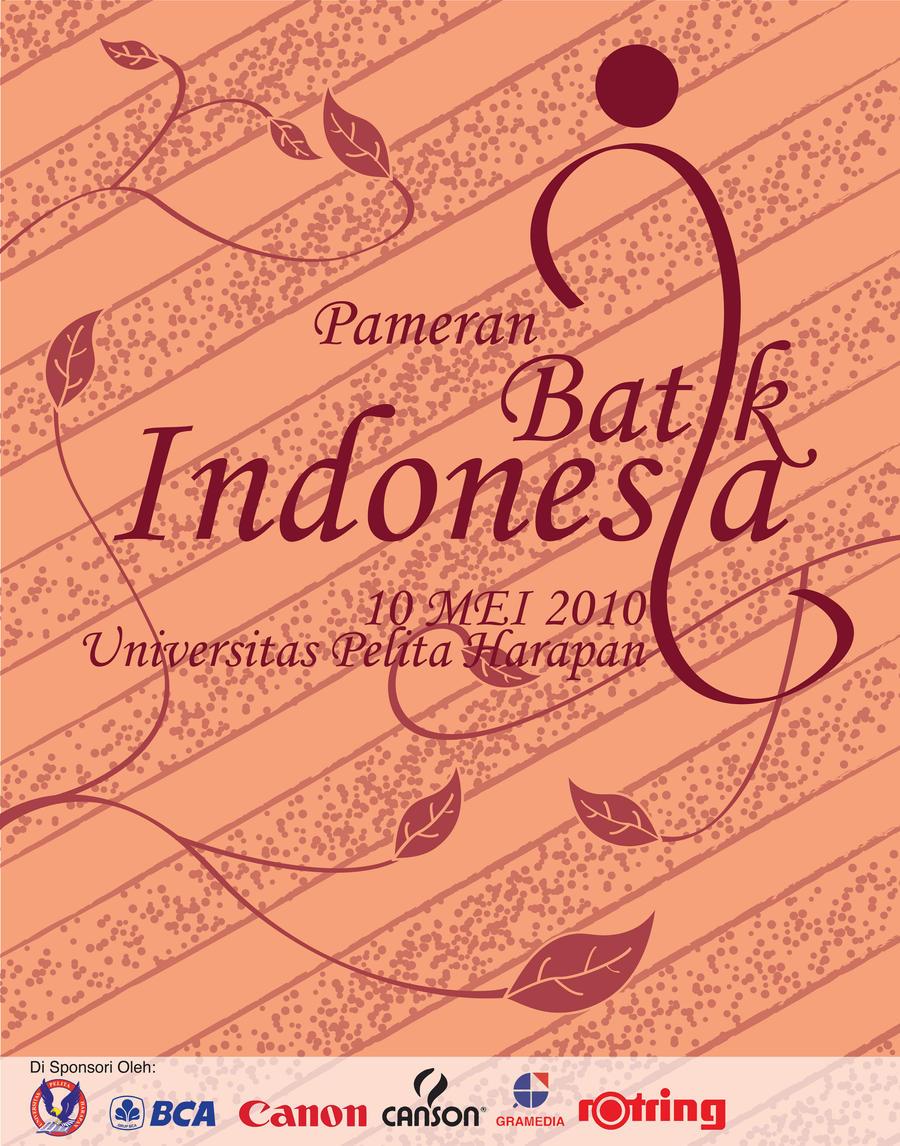 Poster Pameran Batik Indonesia by petkanna on DeviantArt