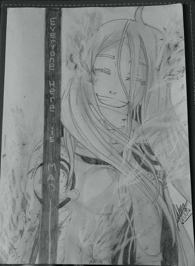 Shiro on Fire by fatma555