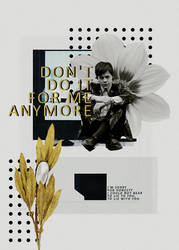 BLEND: don't do it for me anymore
