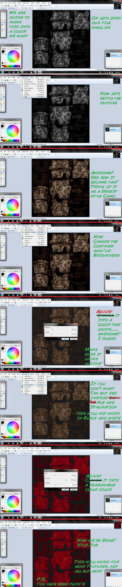 Texture Changer tutorial by MMDFuph