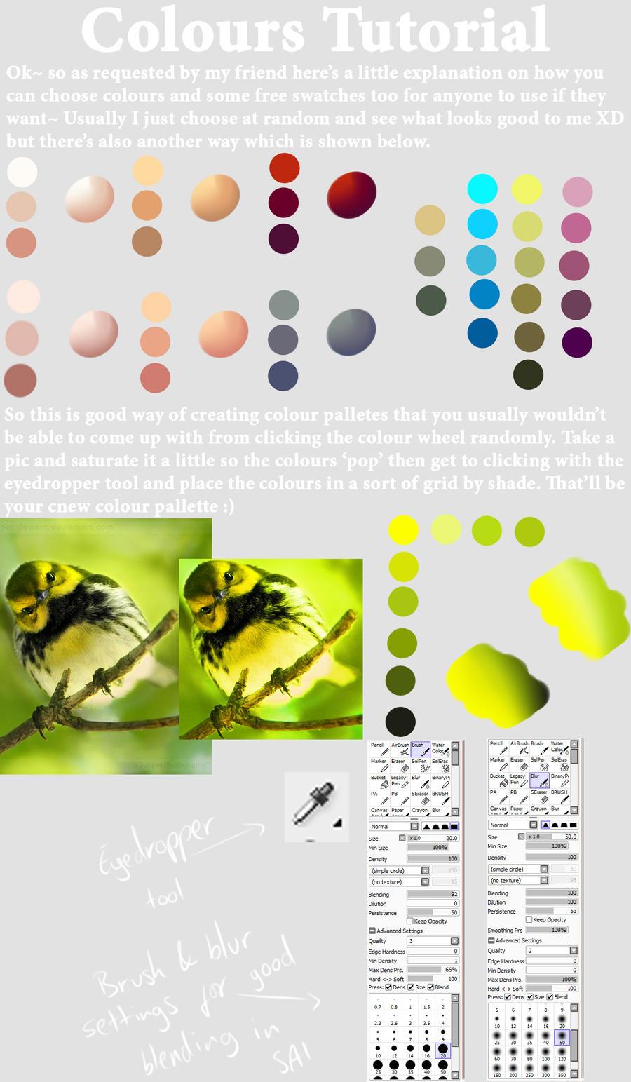 Colours tut by bubblesfish