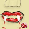 Vampire lips by slalucy123sla