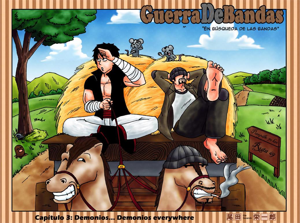 Colorspread 3 Guerra de Bandas by GiaSecando
