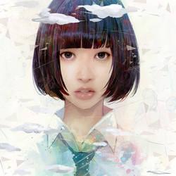 Misato Misaki by wataboku