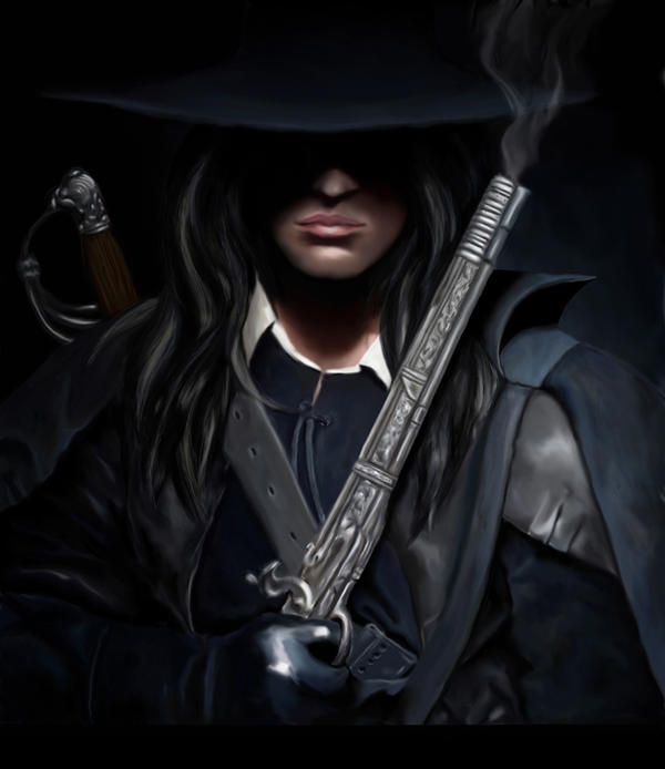 Solomon Kane- old version by The-Inkling