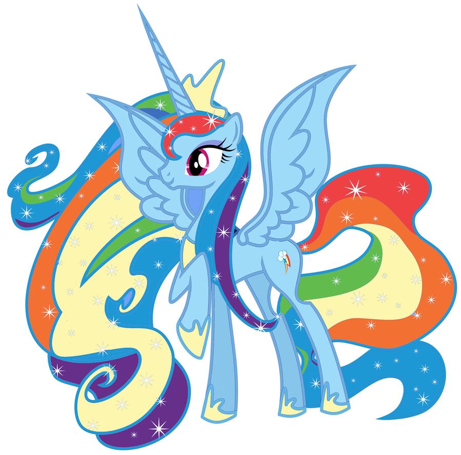 Comment dessiner rainbow dash