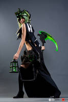 Female Thresh Anime Expo 2013 by Kristeekins