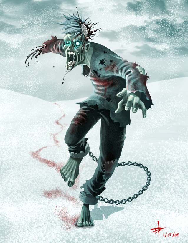 Frozen Zombies How 2nd Take More Fleshy Colour