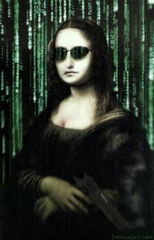 Matrix Mona Lisa