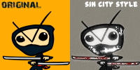 Comic-Ninja - 2 Versions by NinjaKiller