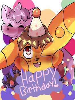 Happy birthday to Reeses!