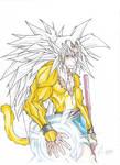 SSJ6 Goku, Semi colored