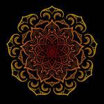 Red Pagan Mandala