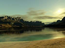 Terragen - Badger Peak by duris