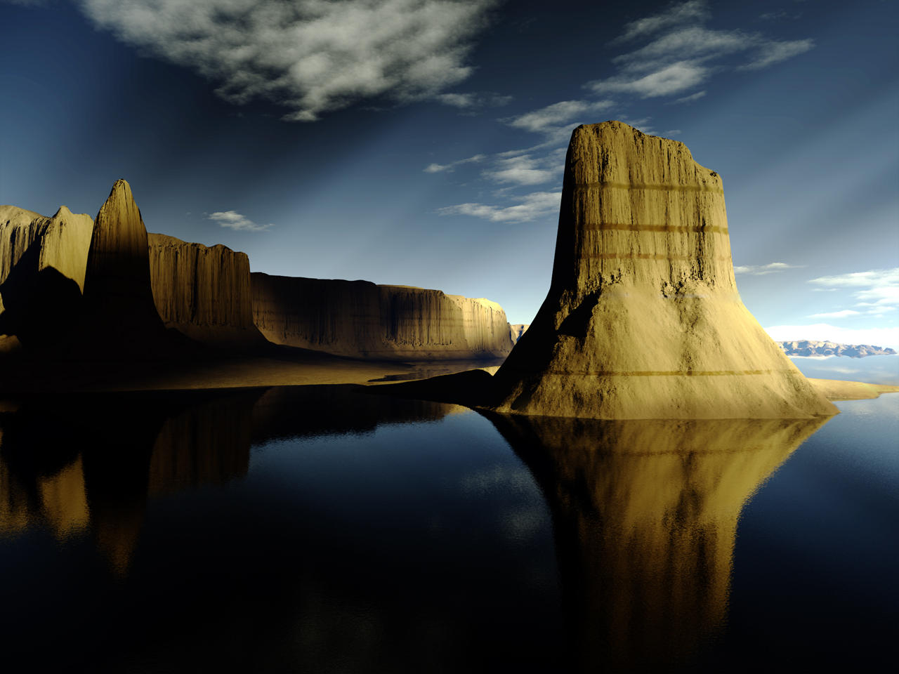 Terragen - Mystery valley by duris