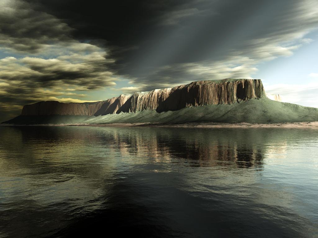 Острова на мира (неутрален) Terragen_-_Stormy_Island