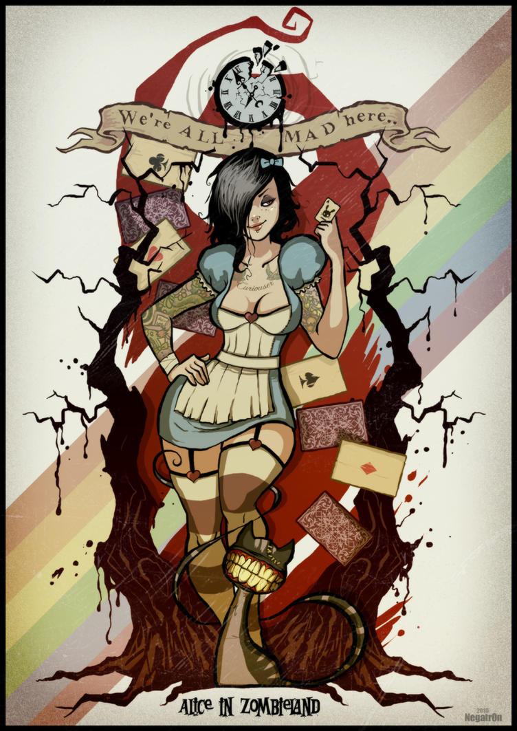 Alice In Zombieland By Negatron On DeviantArt