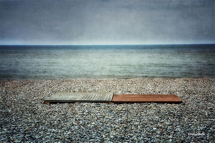 Cette mer qui dort... by VisitingFahrrad