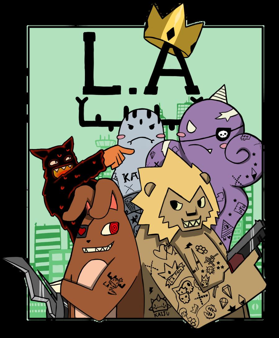 LA.KAIJU contest by spyke-sk