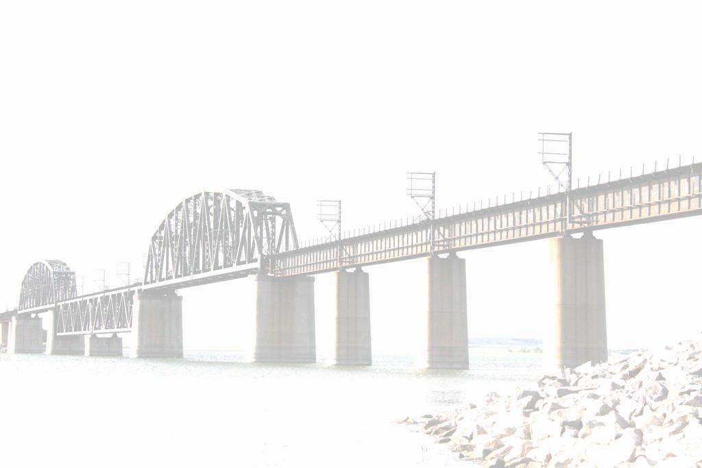 Train Bridge by tattookelly