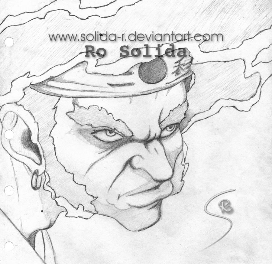 WIP Afro Samurai by Solida-R on DeviantArt