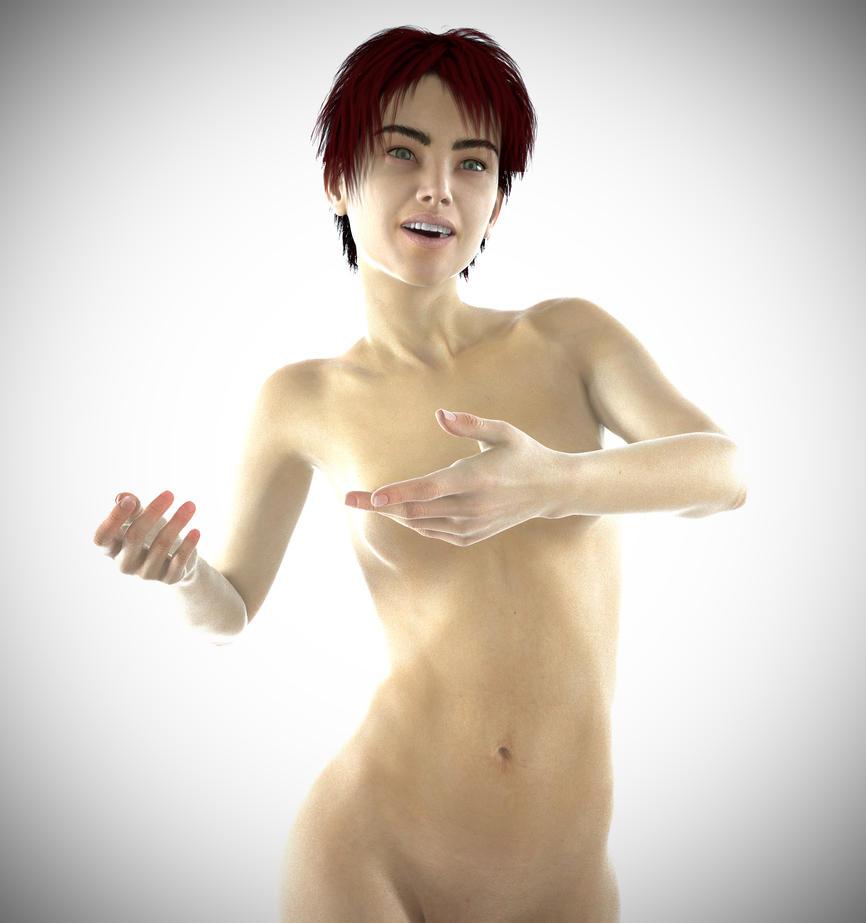 Ines Skin Shader Test by Bastino