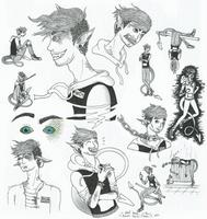 Inktober: Dangerous Doodles by TiniestTinsel