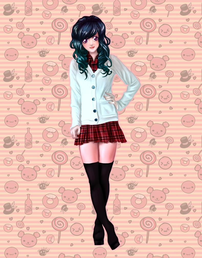 School Girl by Teksu