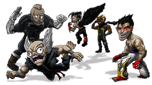 Tekken Rage(faces)!