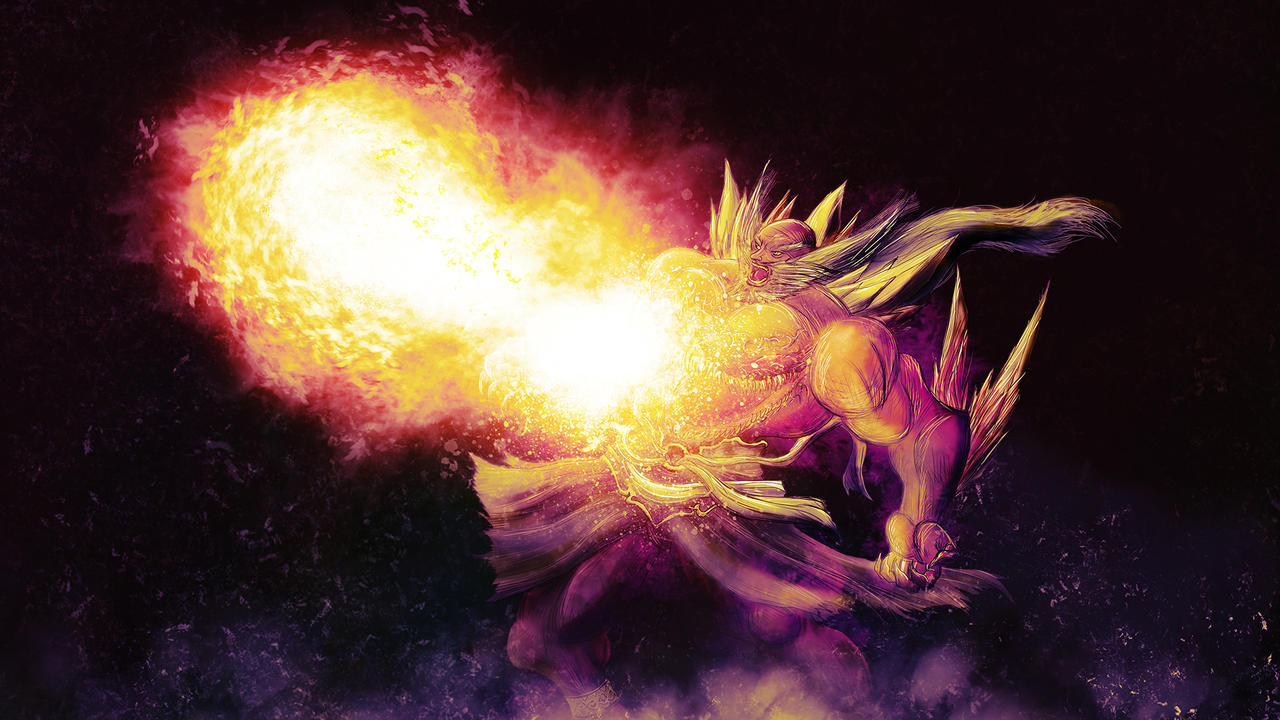 Jinpachi ~ Enma's Inferno by conquerorsaint on DeviantArt