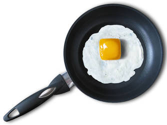 Cube egg by Peorthyr